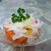 【開運レシピ】トマトとタマネギ、それに添えるパセリ!