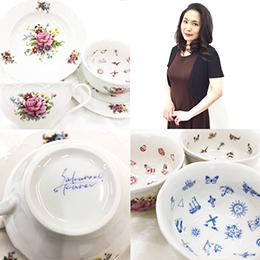 おまじない&占いショップ「ハピタマ!」 ~桜野カレンの紅茶占い~ Sakurano Karen's Fortune Telling Cup