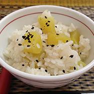 【開運レシピ】サツマイモご飯!