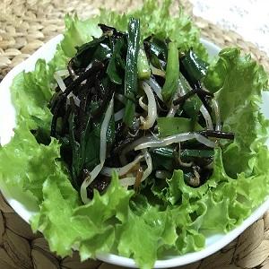 【開運レシピ】女子の魅力を引き出すひじきのサラダ