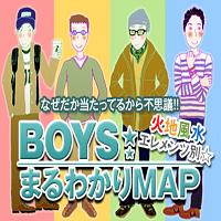 火地風水エレメンツ別☆BOYSまるわかりMAP