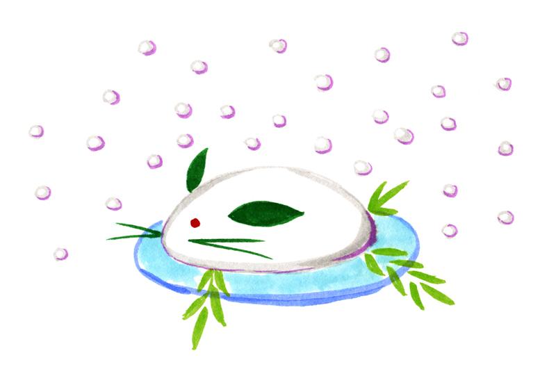 辛さや悲しみは雪うさぎが溶かしてくれる