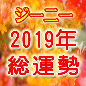 ジーニー【2019年総運勢】総合/恋愛/仕事/金運~幸福のメッセージ